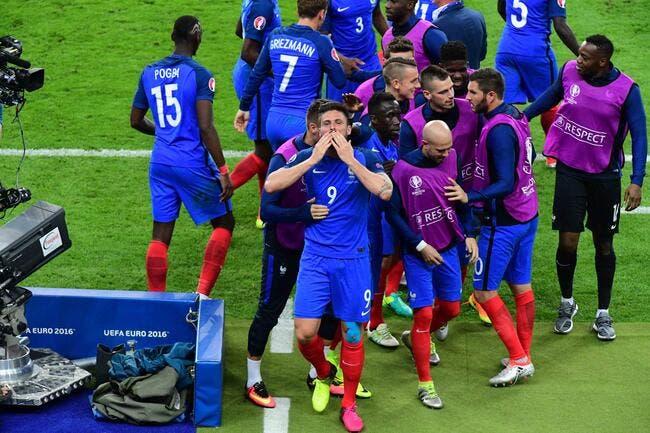 France: Giroud «fier d'avoir marqué» et «ému pendant la Marseillaise»