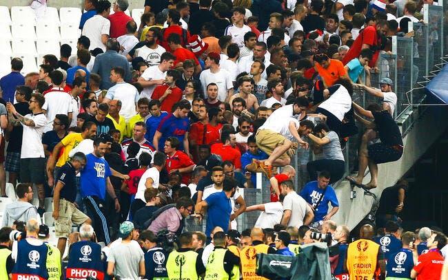 Euro 2016 : Des incidents éclatent dans les tribunes du Vélodrome