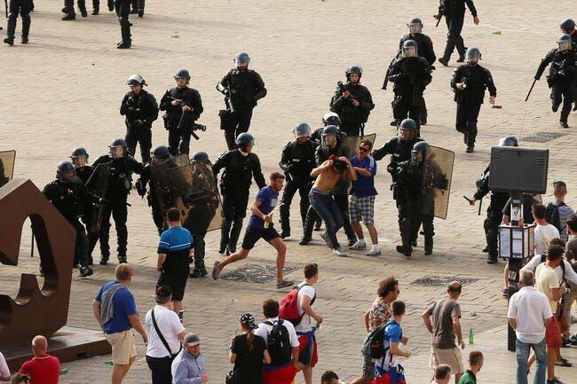 Euro 2016 : Le calme (relatif) revient à Marseille avant Angleterre-Russie