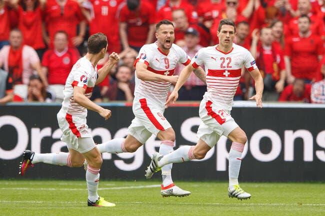 Euro 2016: La Suisse assure l'essentiel et rejoint les Bleus