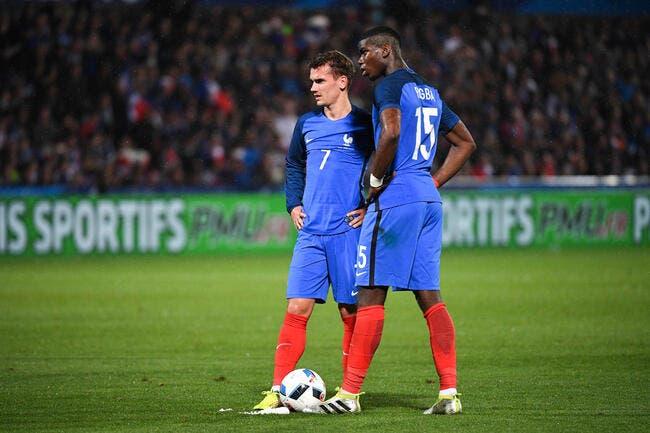 France: Pogba et Griezmann, les fausses stars démasquées
