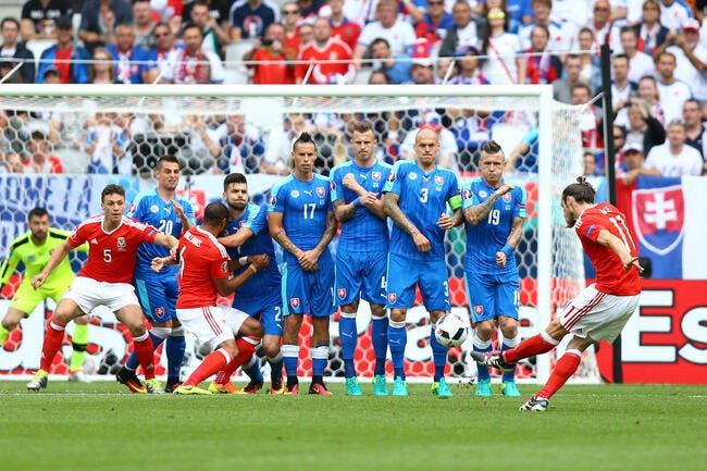 Pays de Galles - Slovaquie : 2-1