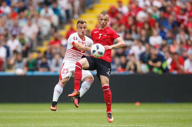 Suisse - Albanie : 1-0