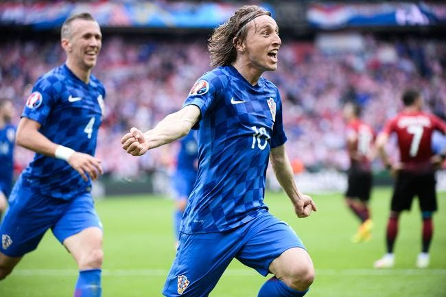 Euro 2016 : La Croatie sauce Modric fait tomber la Turquie