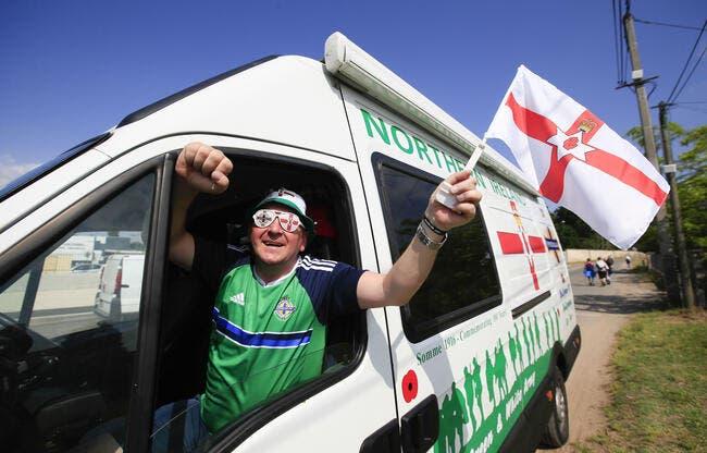 Les Nord-Irlandais mettent une sacrée ambiance à Nice
