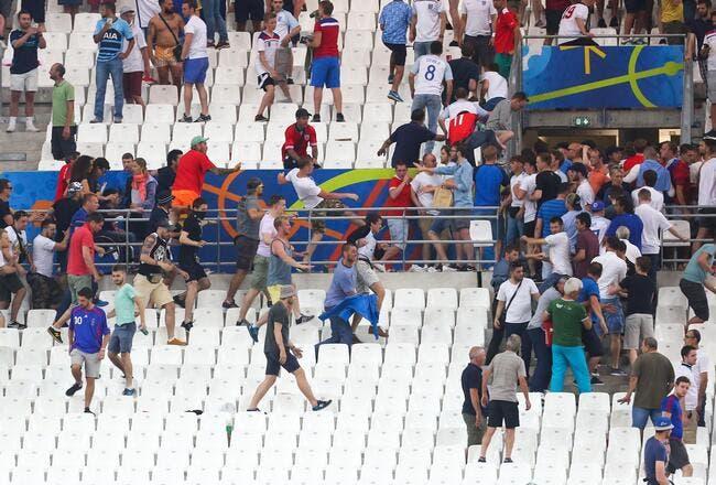 Euro 2016 : 150 hooligans russes à Marseille, 0 interpellé