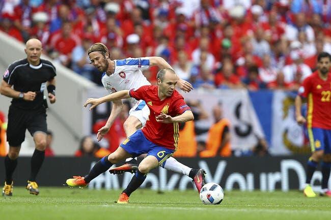 Euro 2016 : La Roja passe à l'orange face aux Tchèques