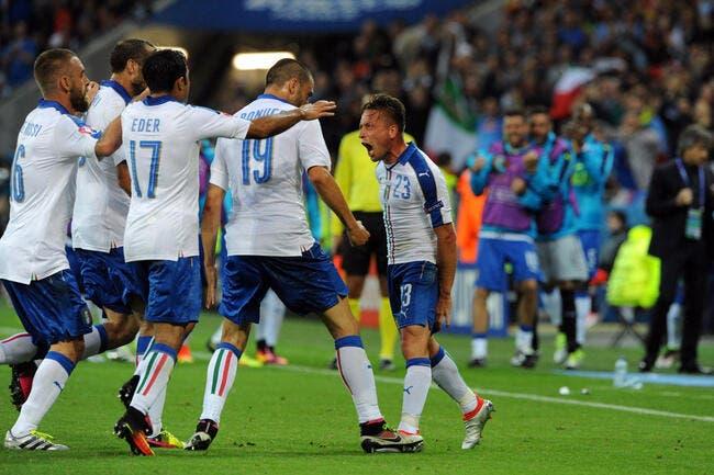 Euro 2016: Le coup parfait de l'Italie face à la Belgique !