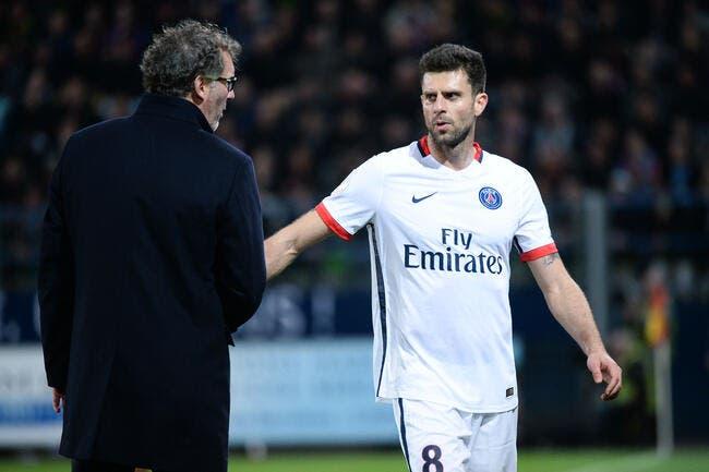 PSG : Thiago Motta est dégouté pour Laurent Blanc