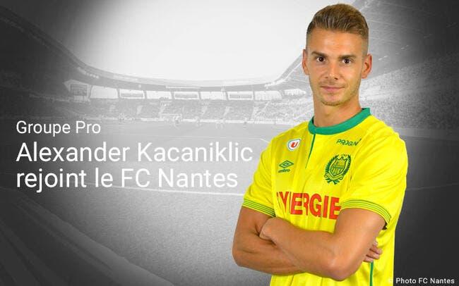 Officiel : Kacaniklic signe 4 ans au FC Nantes