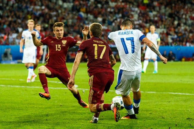 Russie - Slovaquie : 1-2
