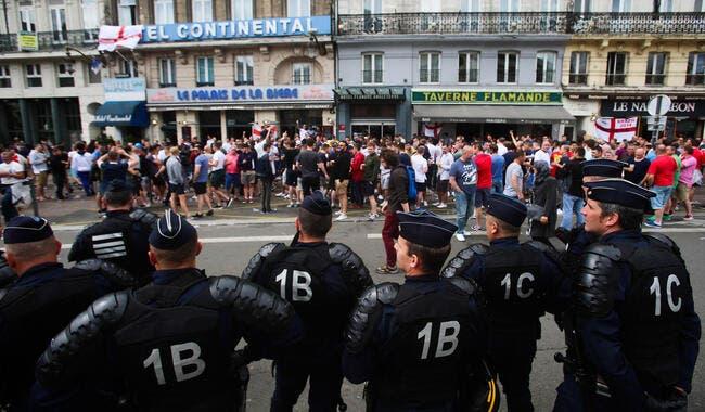 Euro 2016: 36 interpellations après un nouvel affrontement à Lille