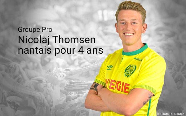 Officiel : Le FC Nantes recrute Nicolaj Thomsen