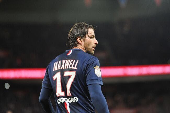 PSG: Maxwell au Brésil pour les vacances, mais pas seulement…
