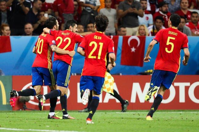 Euro 2016: Le premier carton, c'est pour l'Espagne face à la Turquie