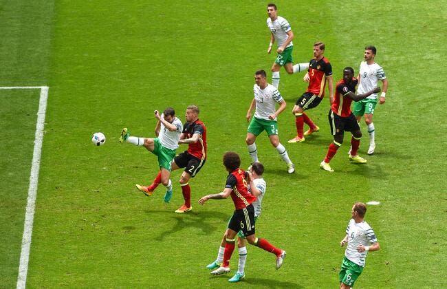 Belgique - Irlande : 3-0