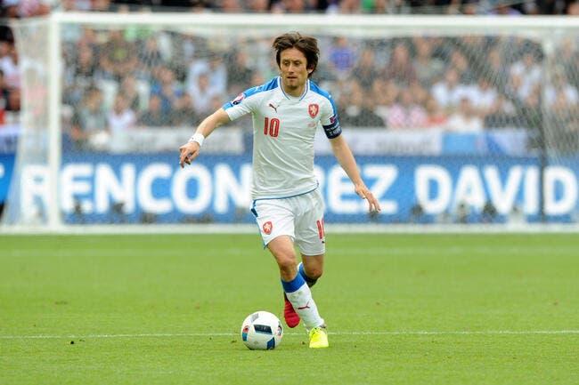 Euro 2016 : La Tchéquie privée de Rosicky jusqu'à la fin