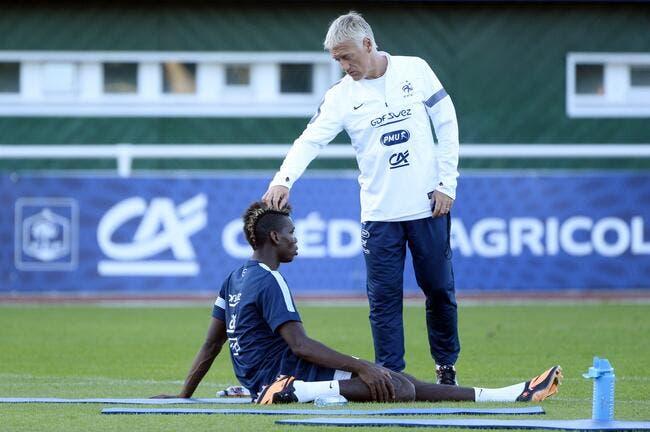 France : Deschamps n'a aucune raison de punir Pogba