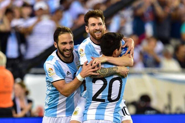 Photo : La joie débordante du vestiaire argentin...