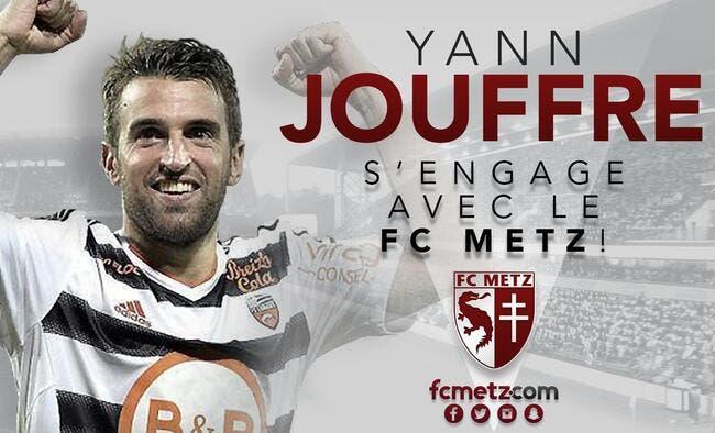 Officiel : Yann Jouffre signe à Metz pour deux saisons