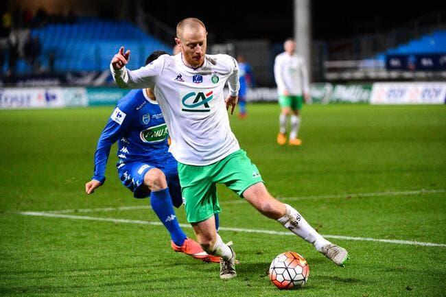 ASSE : Jonathan Brison a trouvé un point de chute en Ligue 2