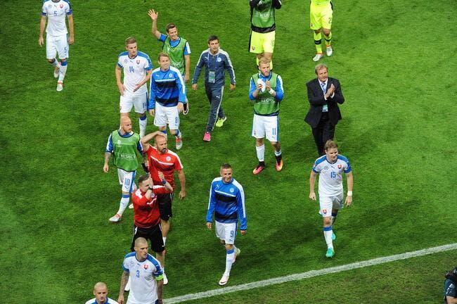 Euro 2016: La Slovaquie qualifiée!