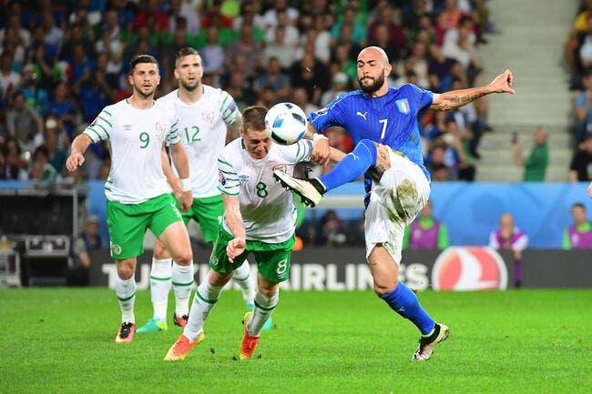 Italie - Irlande : 0-1