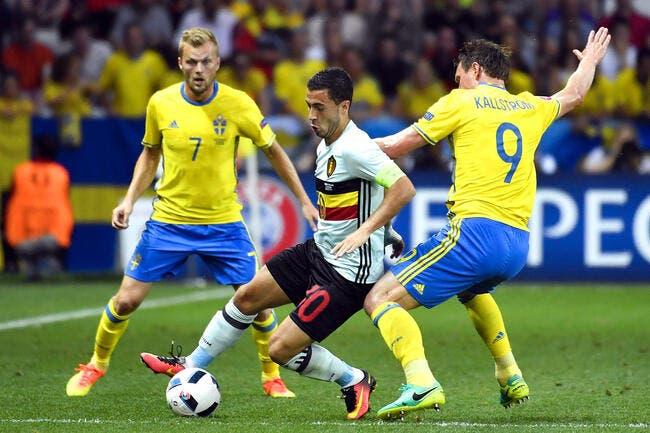 Suède - Belgique : 0-1