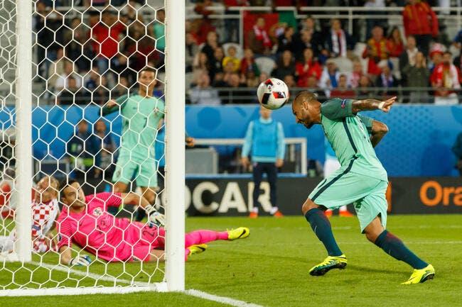 Euro 2016 : Et à la 117e minute, Quaresma surgit !
