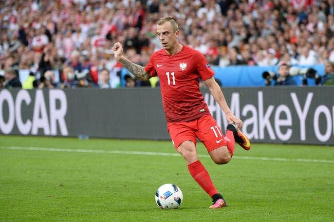 Rennes: Grosicki version Euro 2016, c'est pas donné