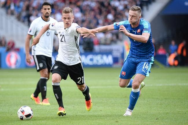 Allemagne - Slovaquie : 3-0