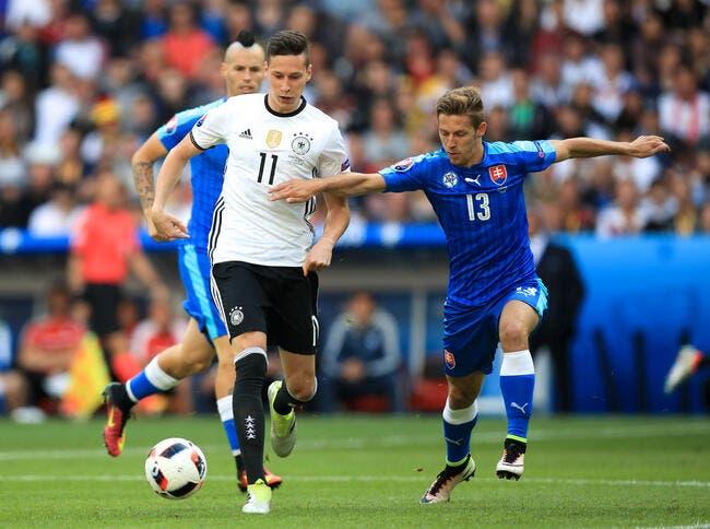 Euro 2016 : Draxler accélère, l'Allemagne cartonne