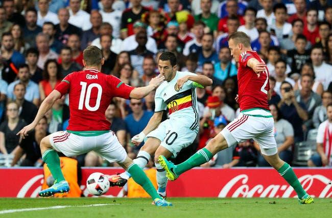 Hongrie - Belgique : 0-4