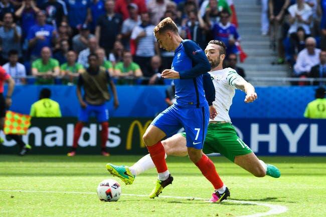 Les notes de France–Irlande: Griezmann et Giroud, la bonne combine