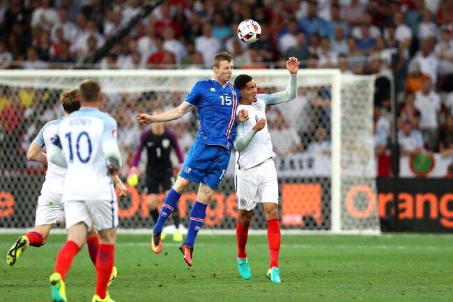 Angleterre - Islande 1-2