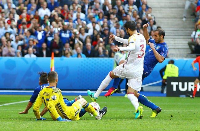 Euro 2016: L'Italie met le champion au tapis!