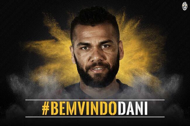 Officiel : Dani Alves à la Juventus jusqu'en 2018