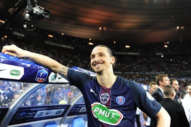 PSG: Ibrahimovic fait cracher 4 ME à Paris pour son pot de départ