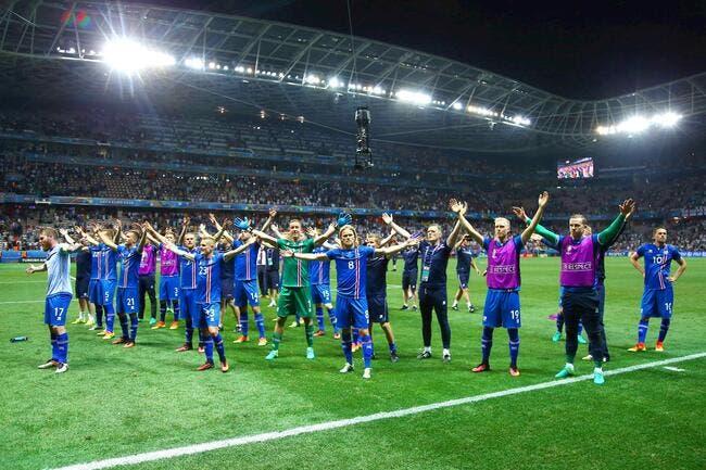 Vidéo: La belle célébration des Islandais après leur exploit