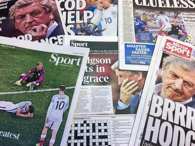 L'Angleterre se sent humiliée, mais The Sun va trop loin!