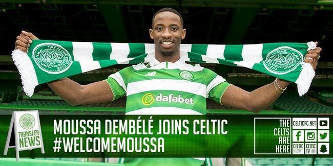 Moussa Dembélé signe pour 4 ans au Celtic