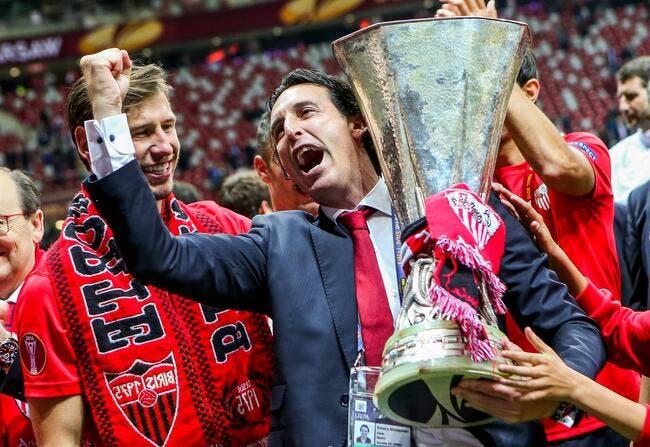 PSG : Emery fait son bilan à Séville, et c'est très fort !