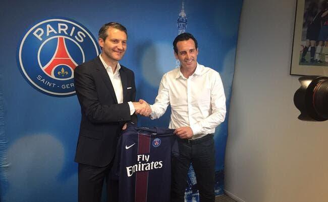 PSG : Emery honoré d'être «dans l'un des clubs les plus puissants d'Europe»