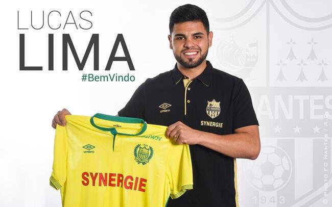 Officiel : Lucas Lima pour 4 ans au FC Nantes