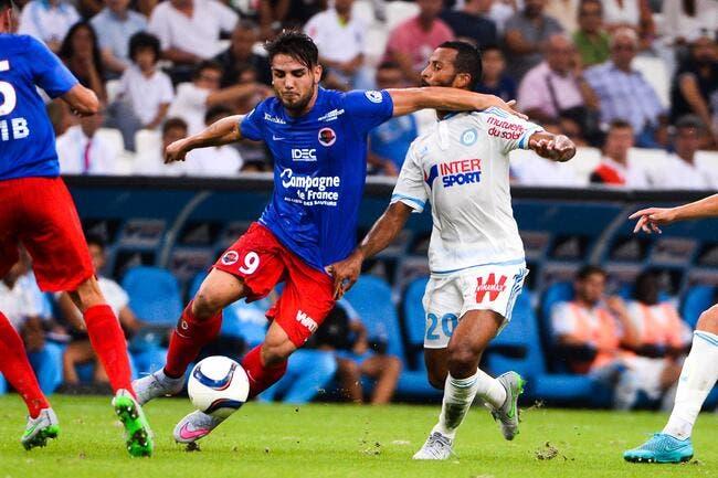 OM: Delort ne trahira pas Caen, mais aimerait jouer à Marseille