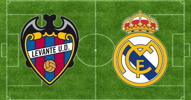 Levante - Real Madrid : Les compos (21h sur BeInSports)