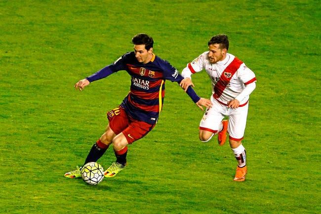 Rayo Vallecano-FC Barcelone : 1-5
