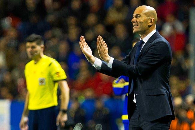 Real : Finir avec des crampes ou sur le banc, c'est la méthode Zidane
