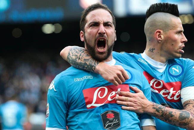 Naples - Chievo Vérone : 3-1