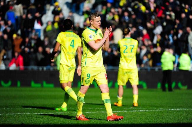 FCN : Sigthorsson vise l'Europe et rien d'autre avec Nantes
